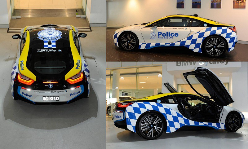 Bmw I8 Joins Sydney Police Fleet To Bring The Community
