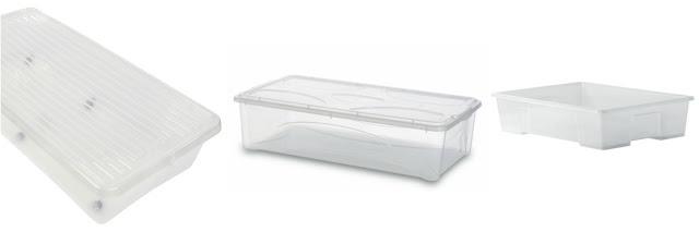 Kutije ispod krevetića - Jysk, Emmezeta, Ikea