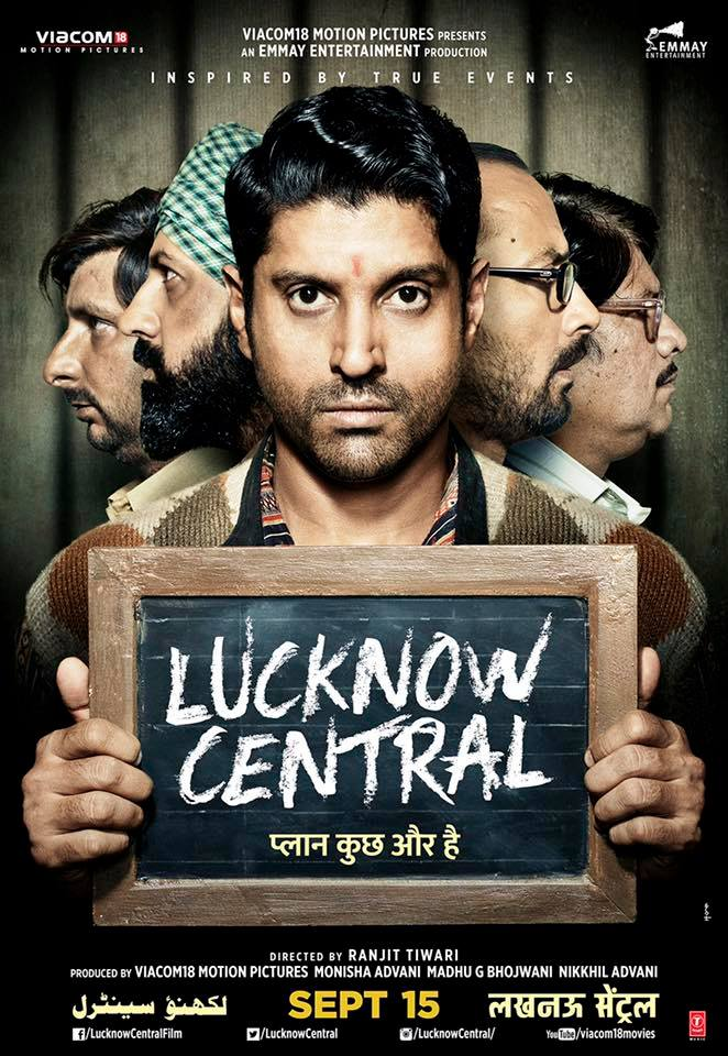 Lucknow Central Movie First look Poster