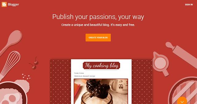 Cara Membuat Blog Gratis dengan Blogger untuk Pemula Dengan Mudah Terbaru 2018
