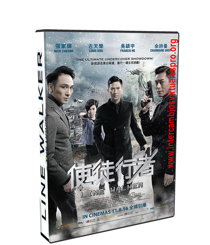 Line Walker - The Movie poster box cover