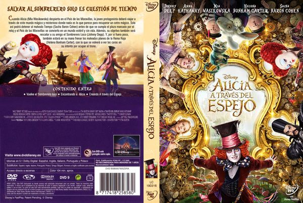 Alice Through The Looking Glass – Inglés