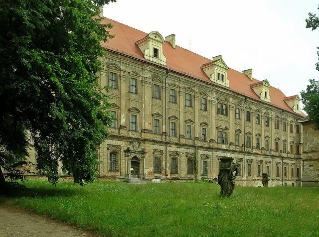cystersi, Lubiąż, Dolny Śląsk, klasztor