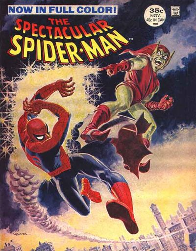 Spectacular Spider-Man #2, the Green Goblin, All-time Top Ten John Romita Spider-Man Covers