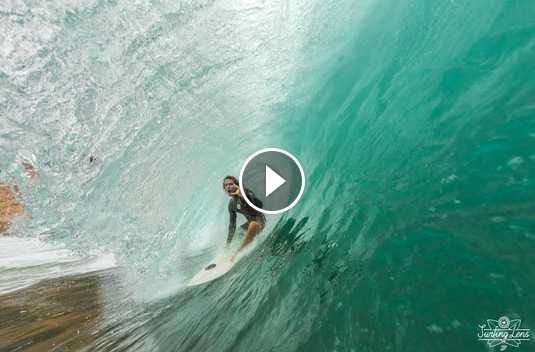 Surfing in Sumbawa Dirty Hippies 2018 First swell