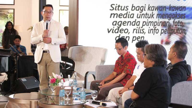 Humas Setda Bandung Luncurkan Website dan Majalah baru