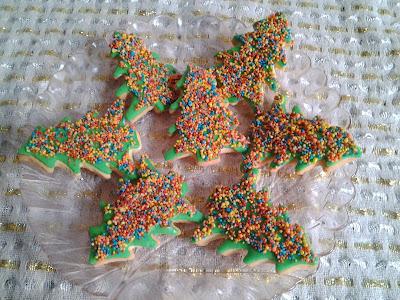 yılbaşı kurabiyesi süslemesi