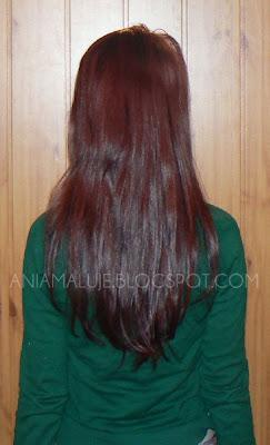 aniamaluje włosy 2012 styczeń