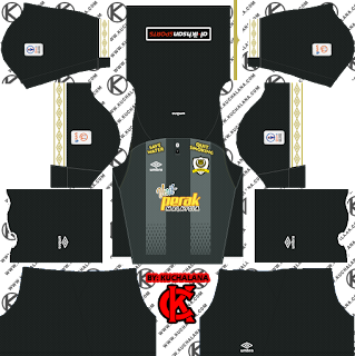 Perak TBG 2019 Kit - Dream League Soccer Kits