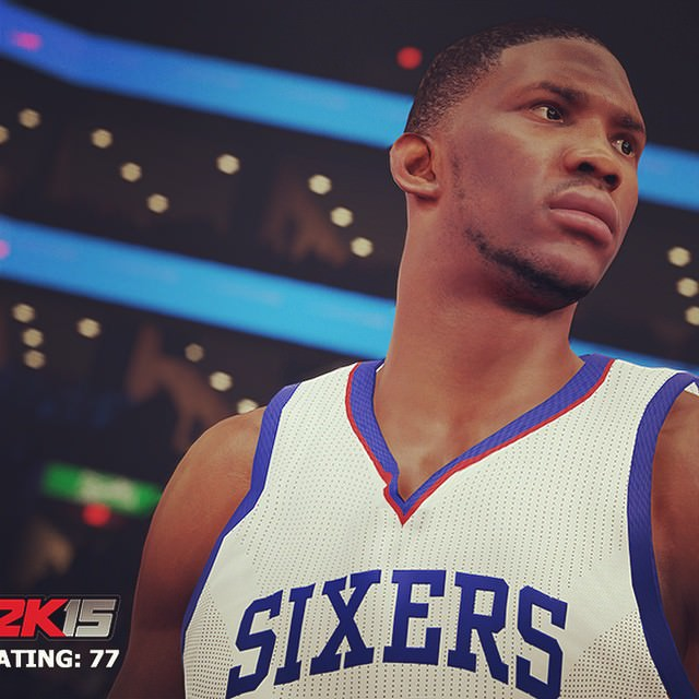 NBA 2k15 new screenshot Joel Embiid hoopsvilla.com