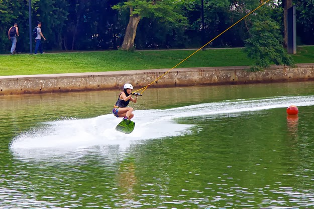 SKI360degree! Singapore's first and only Cable-Ski Park
