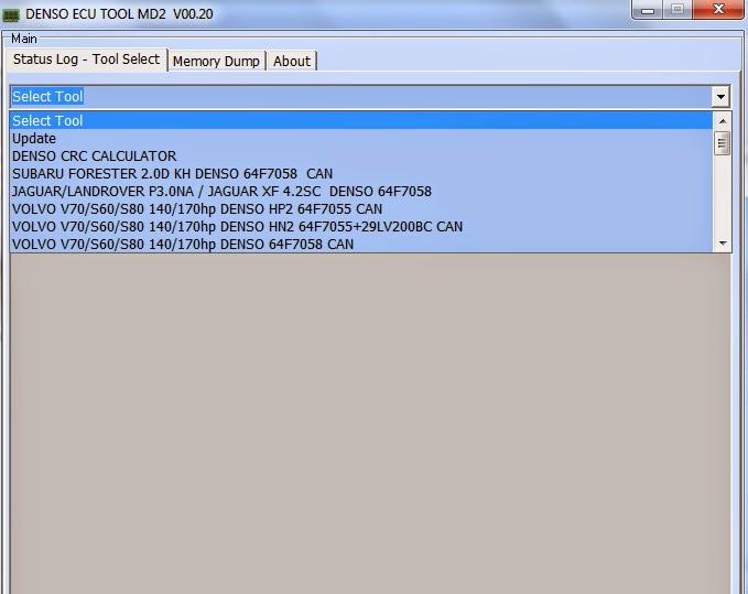 DSM tool - Denso - Siemens - Marelli ECU programming via OBD