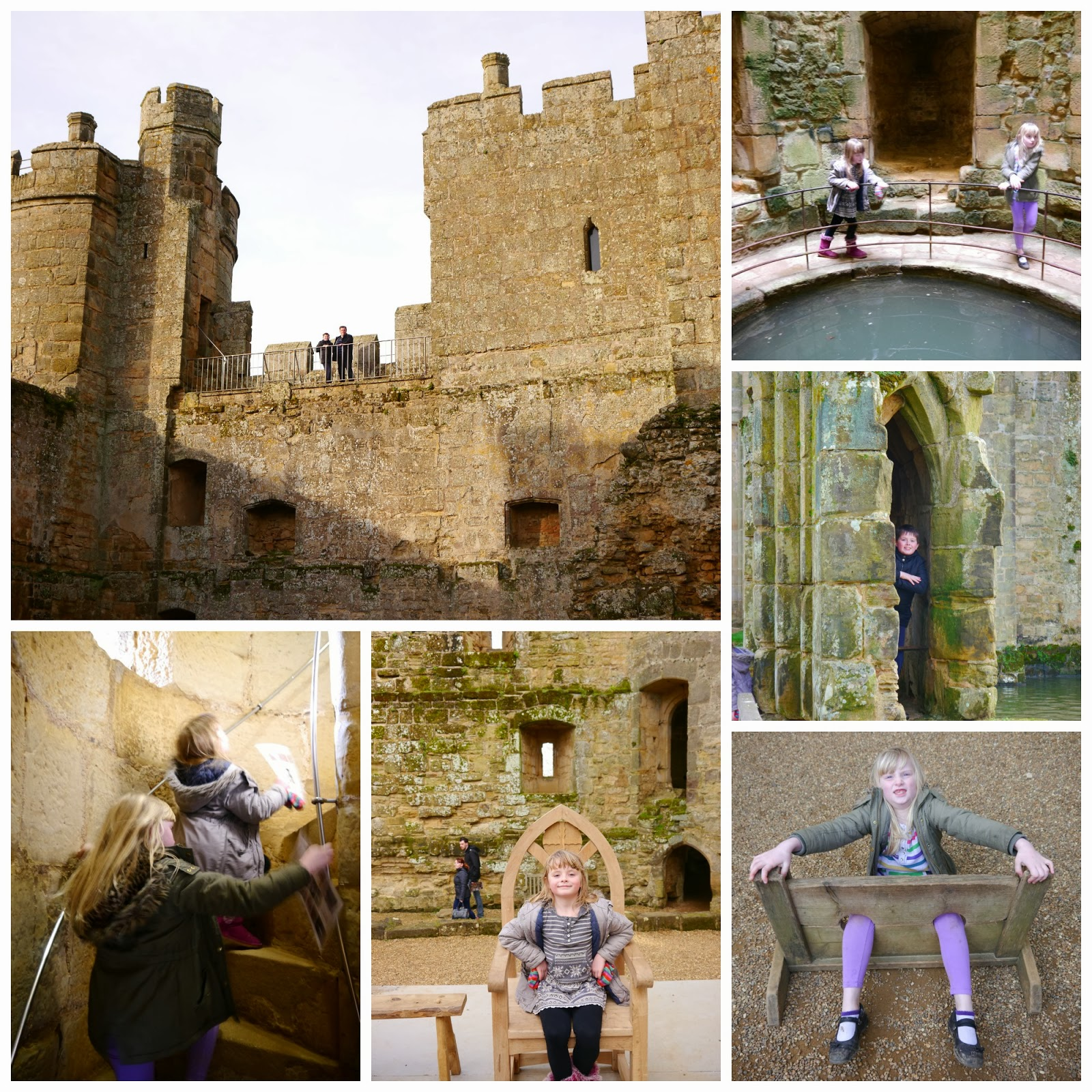 Inside Bodiam Castle 2