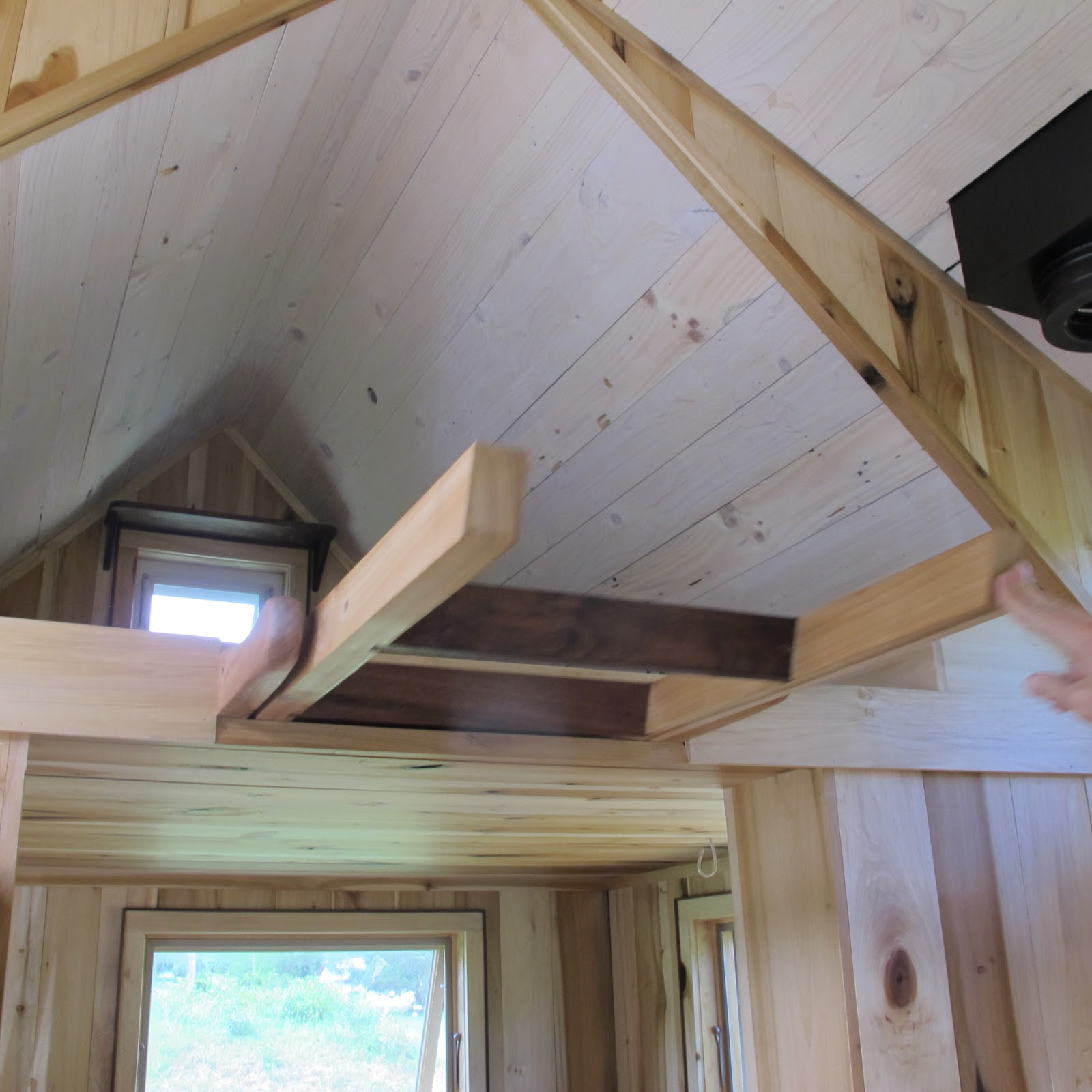 Owl Creek Happenings: Tumbleweed Tiny House II