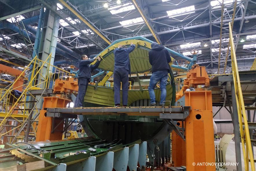 Antonov assembles An-178 aircraft for Peru