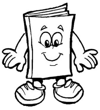 Desenhos Do Dia Do Livro Para Pintar Colorir Imprimir Livro