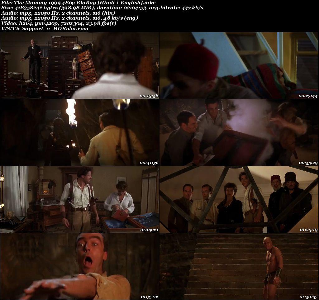 The Mummy 1999 480p BluRay [Hindi + English] 399 MB Screenshot