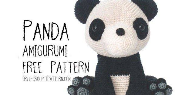 Amigurumi Giant Panda crochet pattern | PlanetJune by June Gilbank ... | 315x600