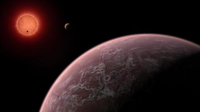 Hallan indicios de agua en exoplanetas del tamaño de la Tierra