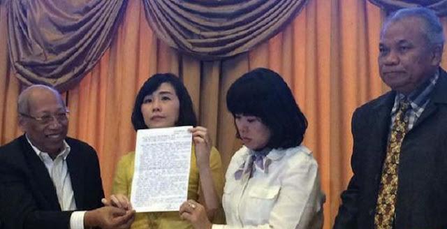 Inilah Surat Lengkap Ahok dari Tahanan Mako Brimob Yang Dibacakan Oleh Veronica Tan