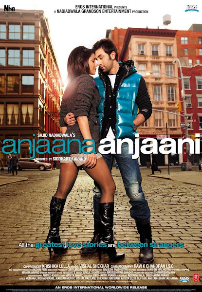 Poster Of Anjaana Anjaani 2010 720p Hindi HDRip Full Movie Download