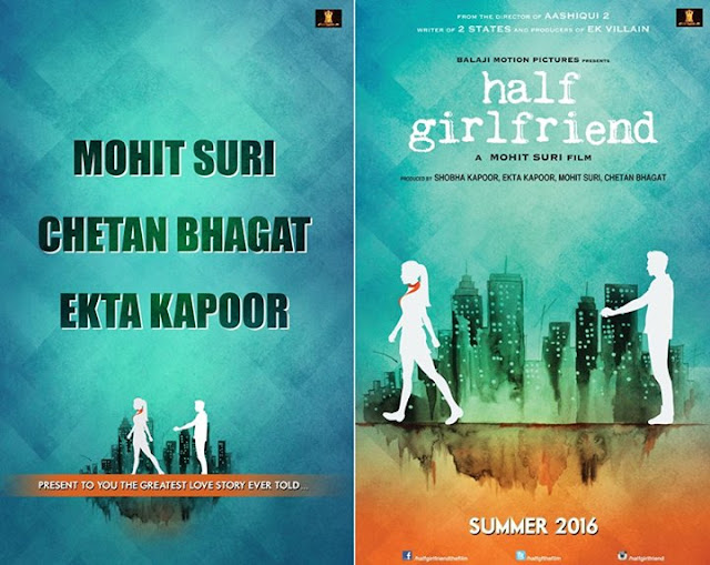 The New Poster Of Half Girlfriend Is Inspired By The Novel Cover