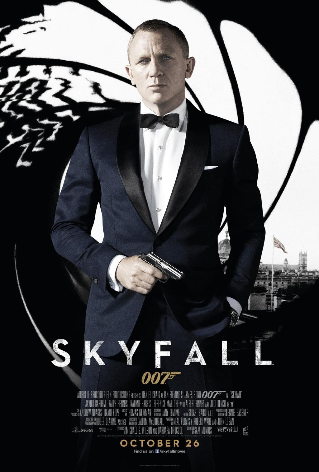 james bond 007 film recenzja plakat daniel craig
