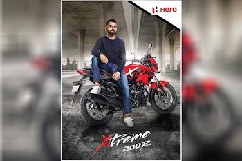 Virat Kohli is Hero MotoCorp's new brand ambassador: Innings to start with Xtreme 200R