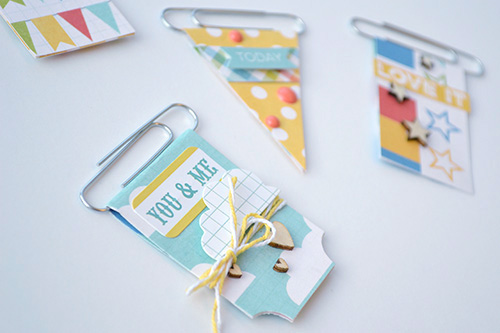 Aly Dosdall Diy Paperclip Bookmarks
