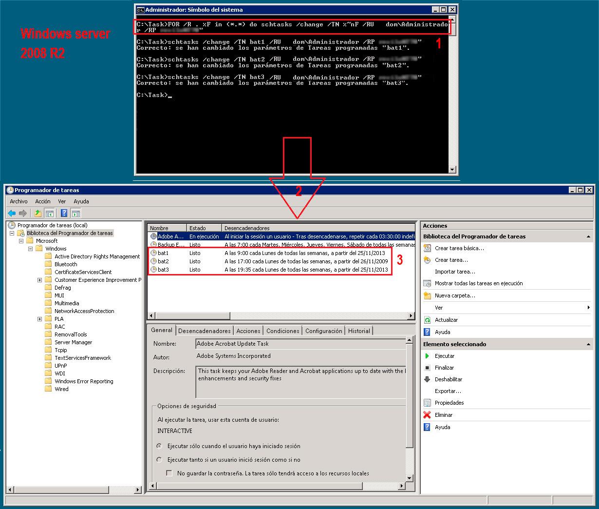 Pantallazos.es: Windows server 2003: Transferir tareas programadas ...