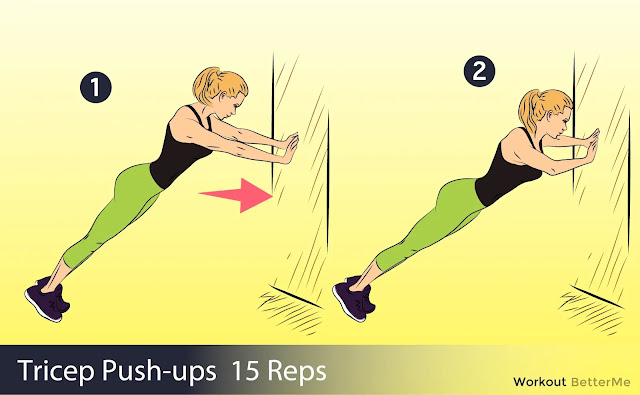 tricep push ups