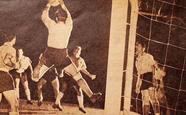 Paraguay y Chile en Campeonato Sudamericano de 1949