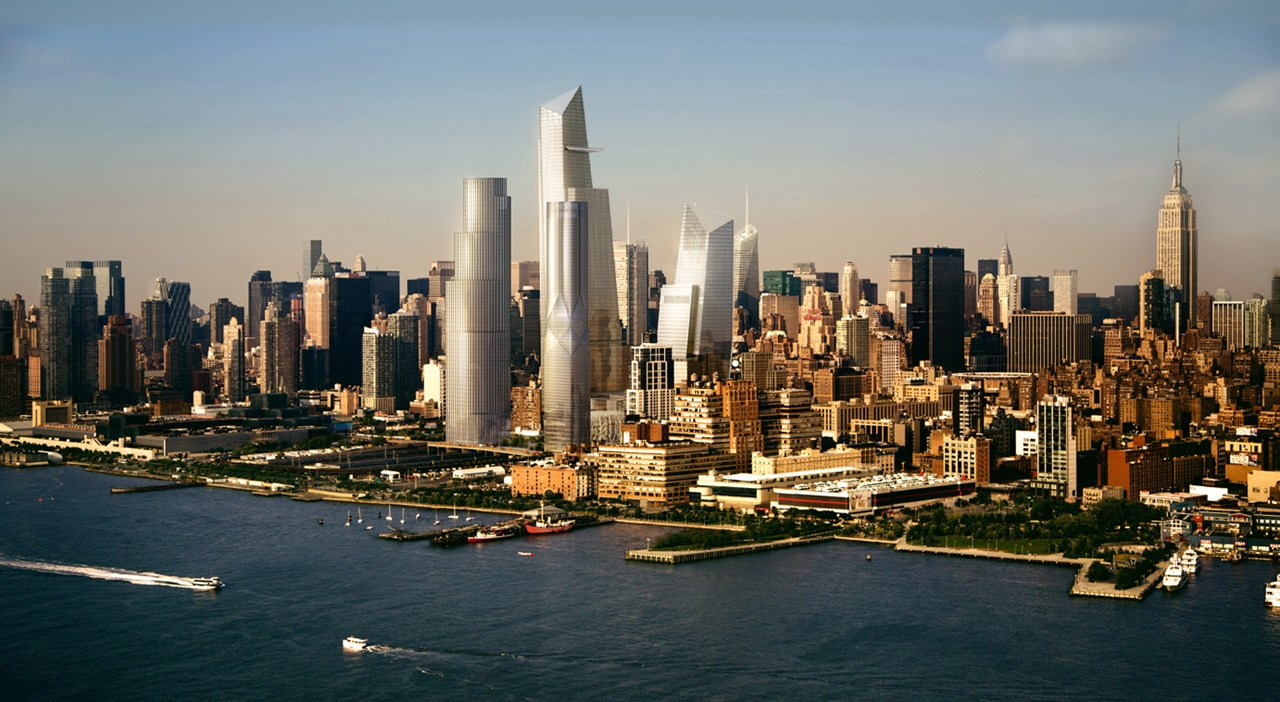 Hudson yards project