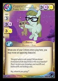 My Little Pony Zipporwhill, Puppy Addict High Magic CCG Card