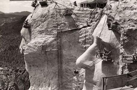 Rushmore Dağı Heykelinin Yapılışı