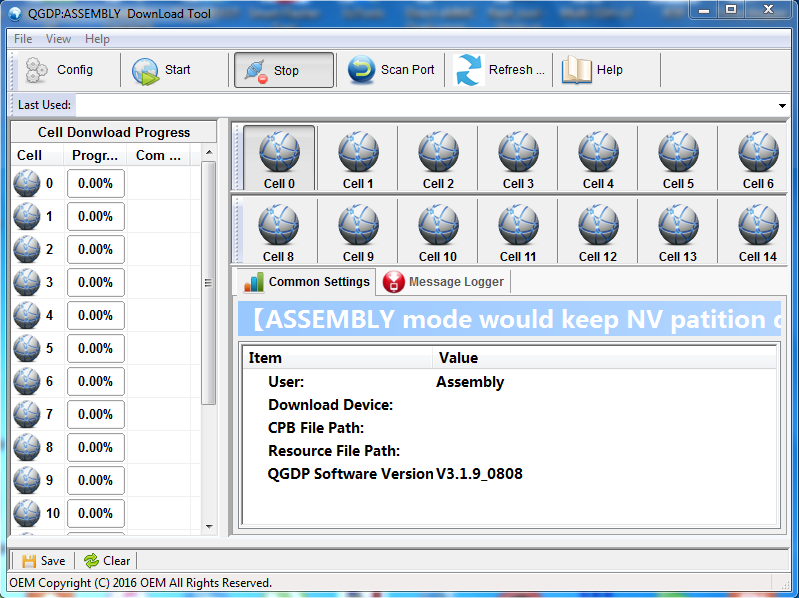 Download QGDP Tool All Version - Firmware27