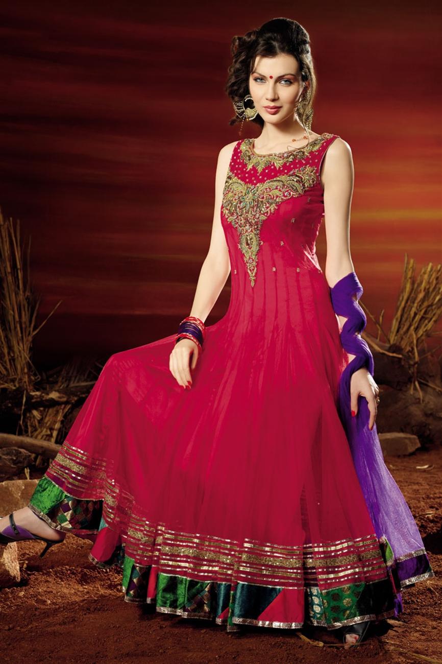 Bollywood Designers Anarkali Suits Online - Latest Fashion ...