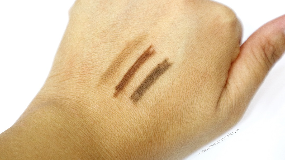 Maybelline Fashion Brow 3d Pencil Swatches
