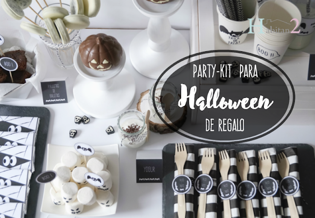 Party-kit para Halloween de regalo, diseño de Habitan2
