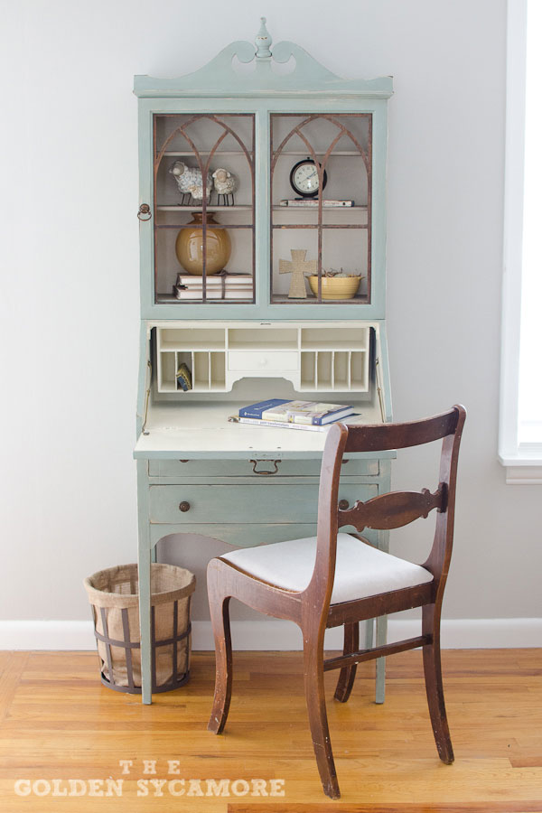 Vintage Secretary The Perfect Addition To Our Living Room The