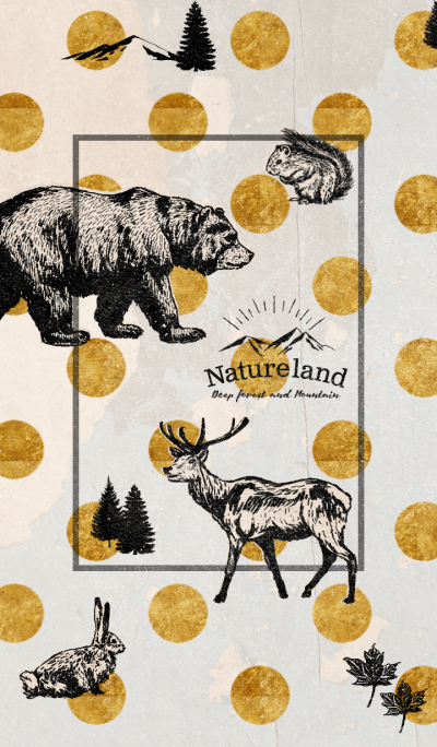 Vintage Nature land