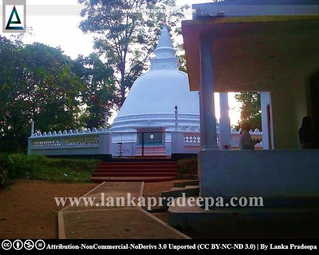 Sri Sudharmarama Purana Viharaya, Obada Ella, Sri Lanka