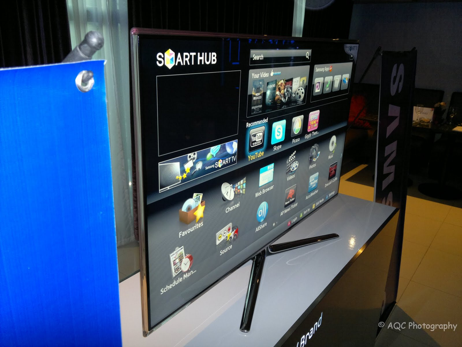 Samsung Smart TV Launched - Internet TV with App Store ~ Cheftonio's