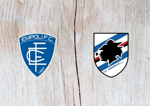 Empoli vs Sampdoria - Highlights 22 December 2018