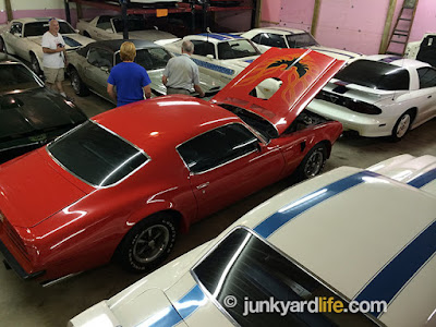 80 pristine examples of Pontiac Firebirds, Formulas, and Trans Ams are owned by Indiana's Steve Hamilton.