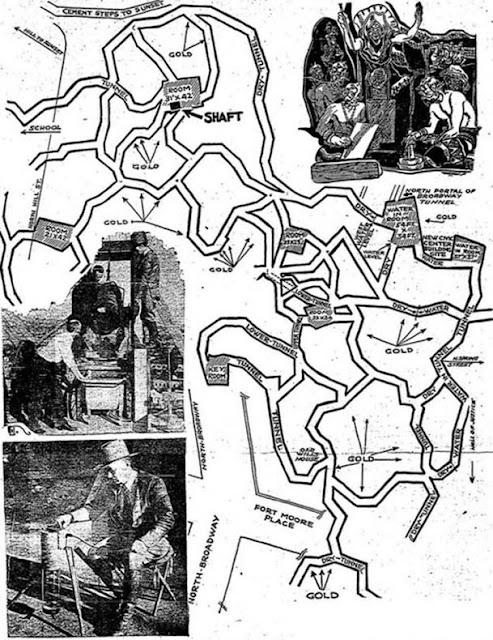 Los túneles descubiertos por Shufelt aun siguen siendo un misterio