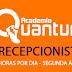 ACADEMIA CONTRATA RECEPCIONISTA - 4 HORAS - SEGUNDA A SEXTA