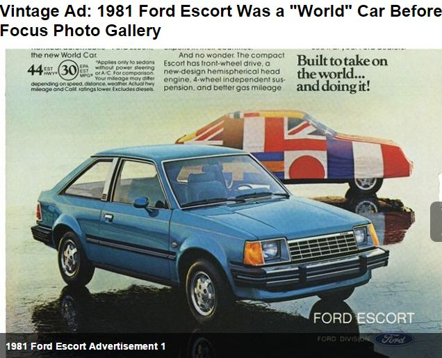 1981 Ford World Car