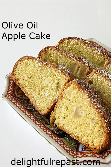 Olive Oil Apple Cake - Rishi Tea Review and Giveaway / www.delightfulrepast.com
