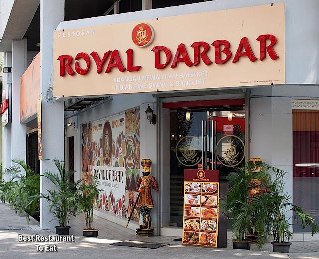 Royal Darbar Restaurant KL Wisma Motor Jalan TAR